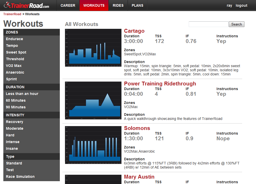 An inside look at TrainerRoad, a way to make your regular