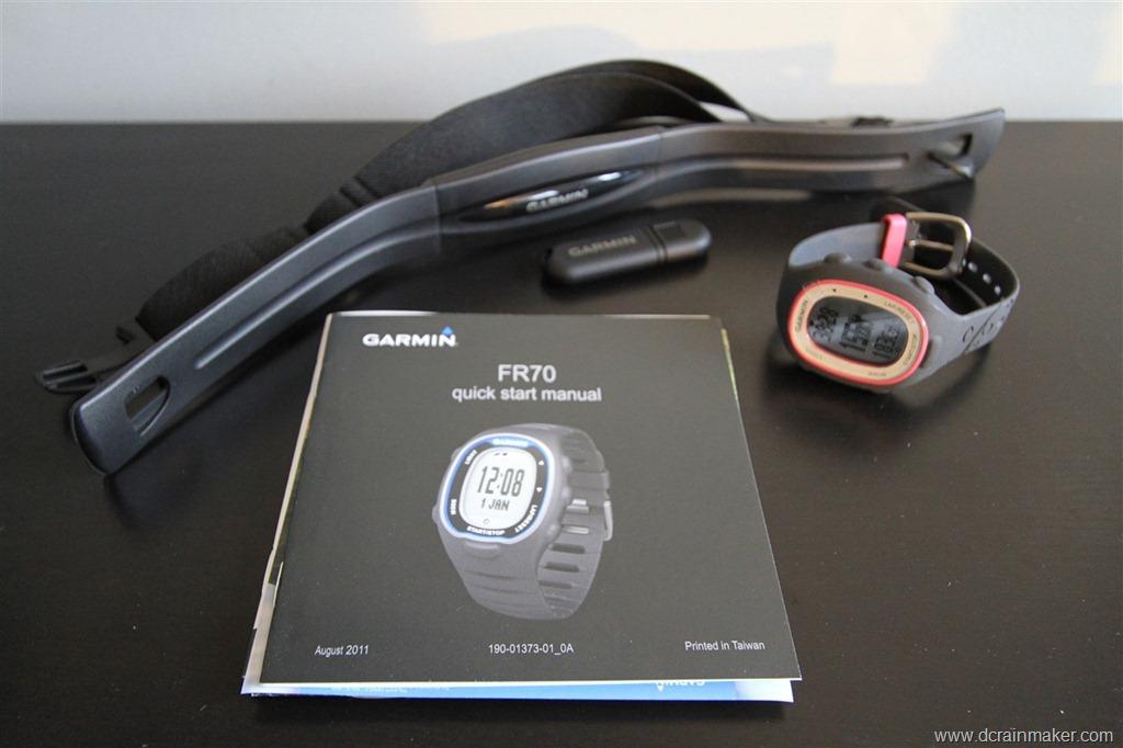 a look at garmin s new forerunner fr70 running watch dc rainmaker rh dcrainmaker com Garmin Swim Garmin Forerunner 210
