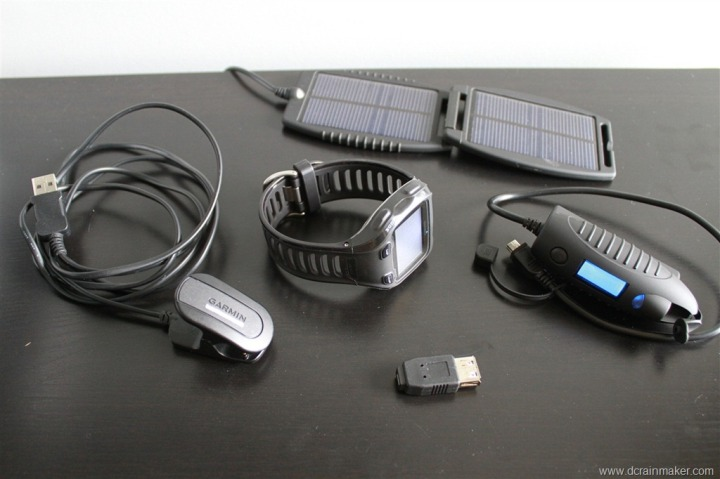 Garmin FR910XT Power Extender Battery Solar Pack