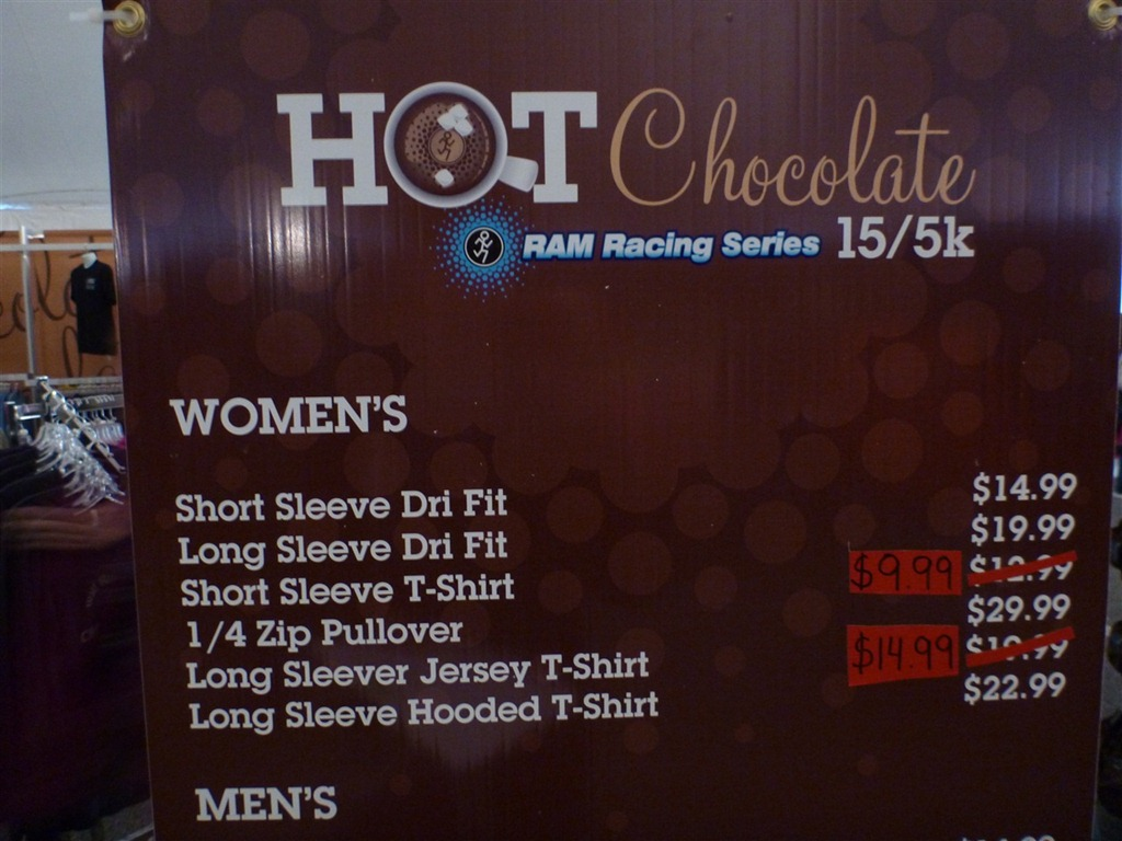 DC Hot Chocolate 15K 2011 Race Report (Alternate Title: How not to ...