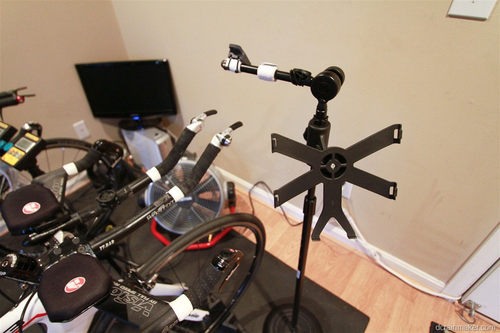 Diy How I Made A Trainer Bike Computer Ipad Phone Stand