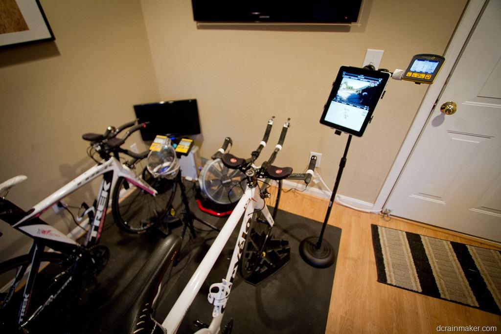 hook up bike trainer