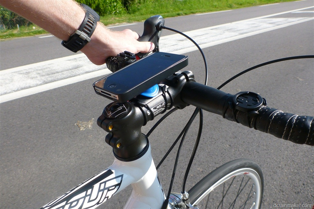 Iphone Bike Mount >> In Depth Review Of The Quad Lock Iphone Bike Mount Case Dc Rainmaker