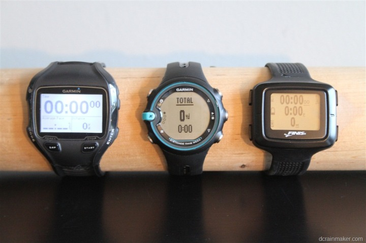 Garmin Swim Watch Backlight Comparison