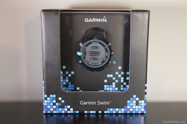 Garmin Swim Watch Box