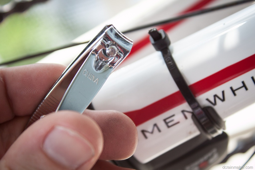 Tip of the day: How to easily remove bike zip ties without ...