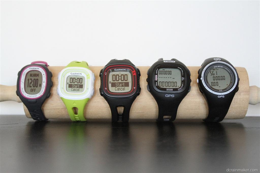 Garmin Forerunner 10 (FR10) GPS watch In-Depth Review | DC