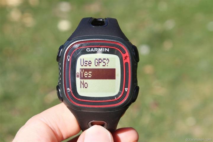 Garmin Forerunner 10 >> Garmin Forerunner 10 Fr10 Gps Watch In Depth Review Dc Rainmaker