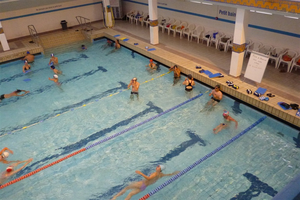 Observations From Our First Indoor Pool Swim Workout In Paris