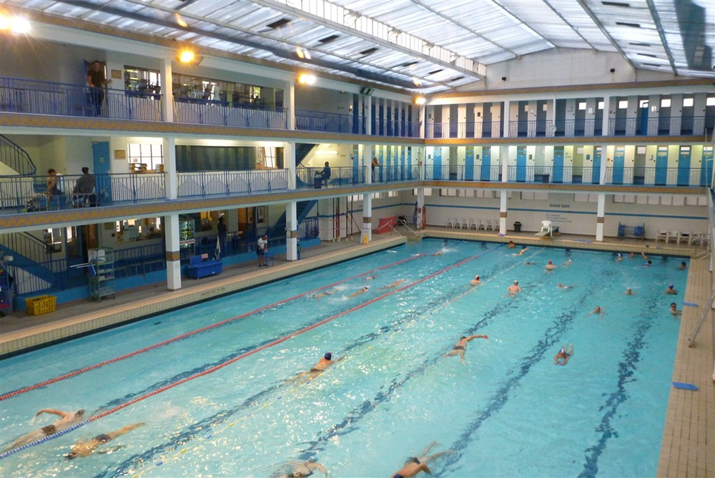 Observations from our first indoor pool swim workout in Paris DC