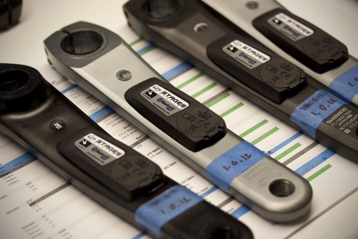 StageOne Power Meters in test