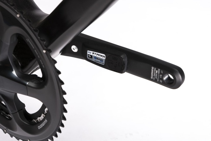 StageOne Power Meter Attached to bike