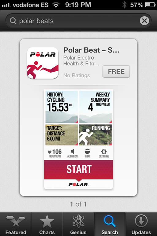 A Look At The New Polar Beat Bluetooth Smart App With H7 Heart Rate