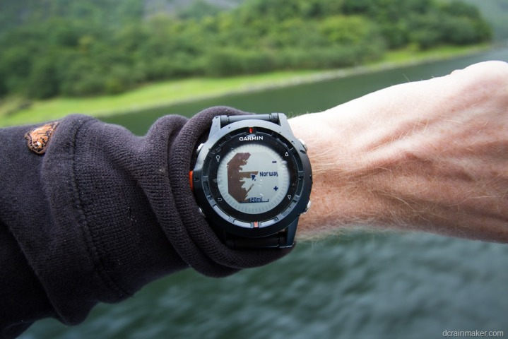 Garmin Fenix InDepth Review DC Rainmaker - Norway map for garmin