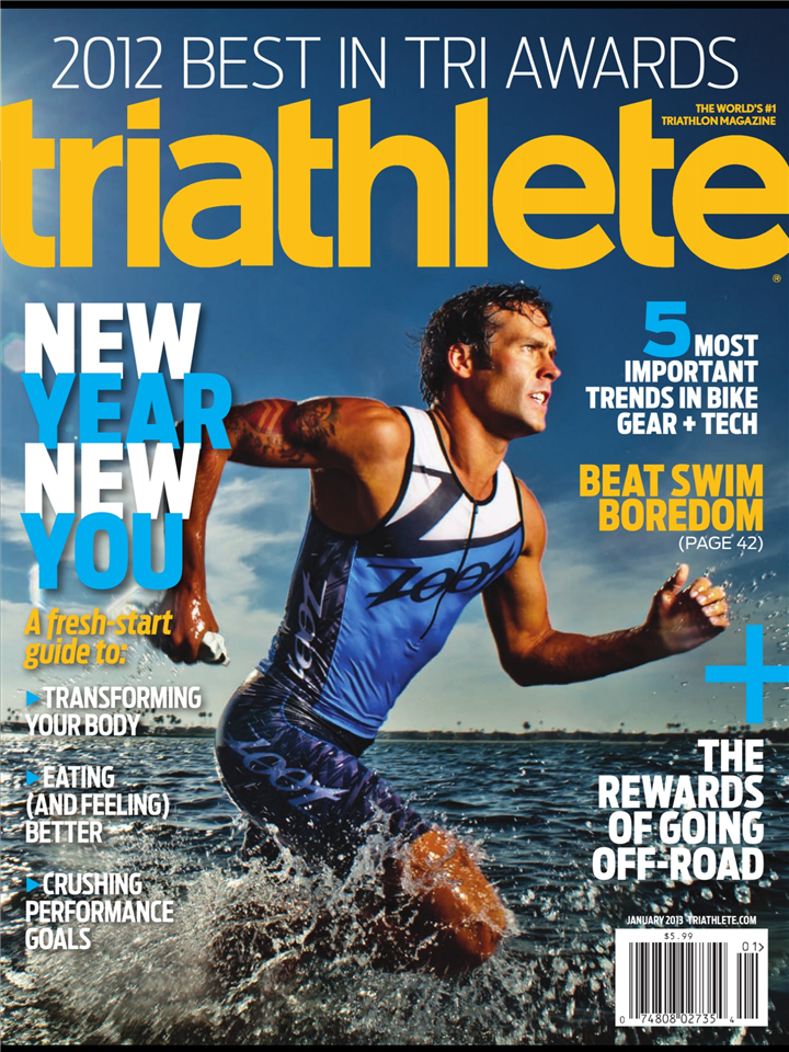 Triathlete Magazine - January 2013