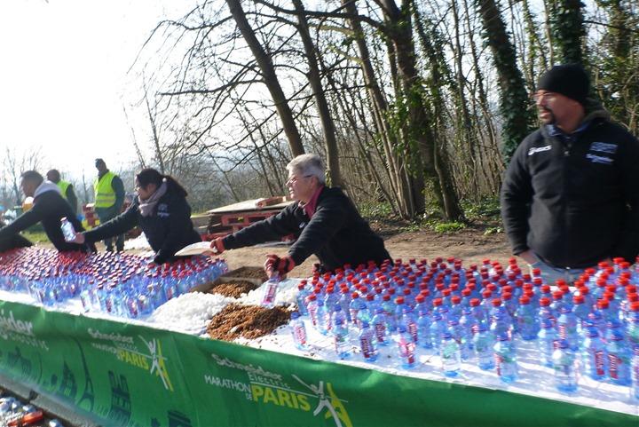 Berlin Marathon Aid Stations