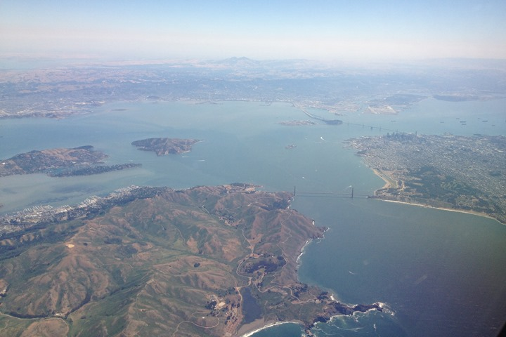 A San Francisco Swimming Flight Connection Layover