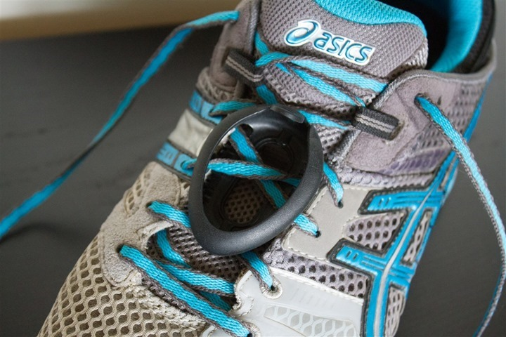 Polar Bluetooth Smart Footpod Install on Shoe