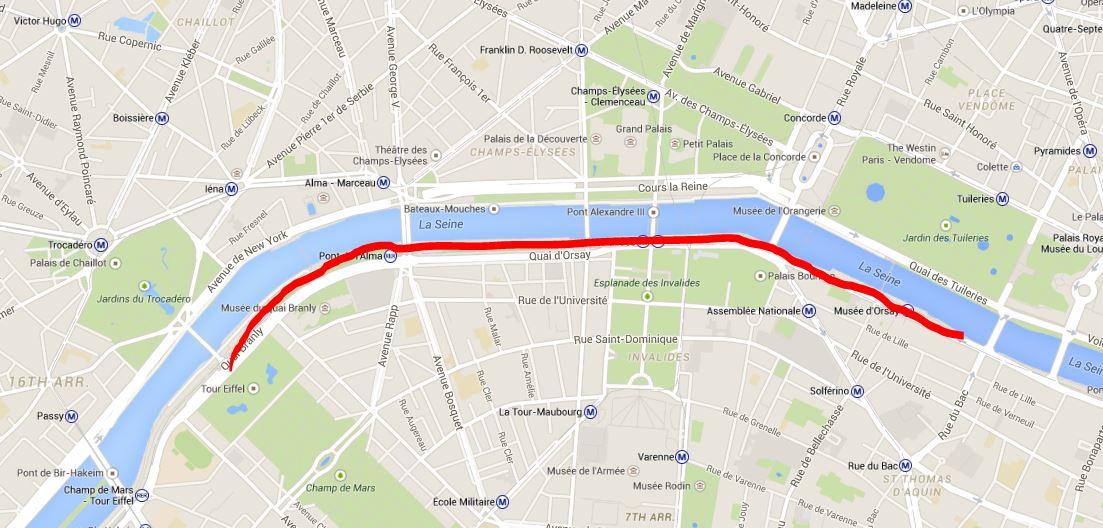 Image result for map my run paris