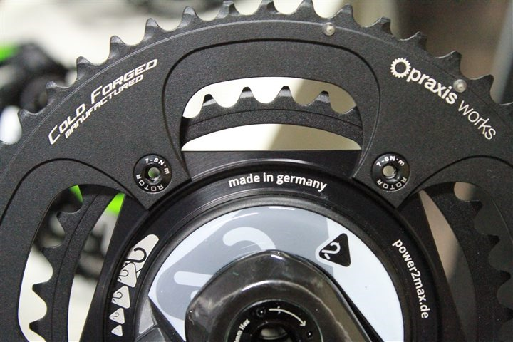 Power2Max drops power meter prices nearly 20%, adds Praxis Works for chain rings