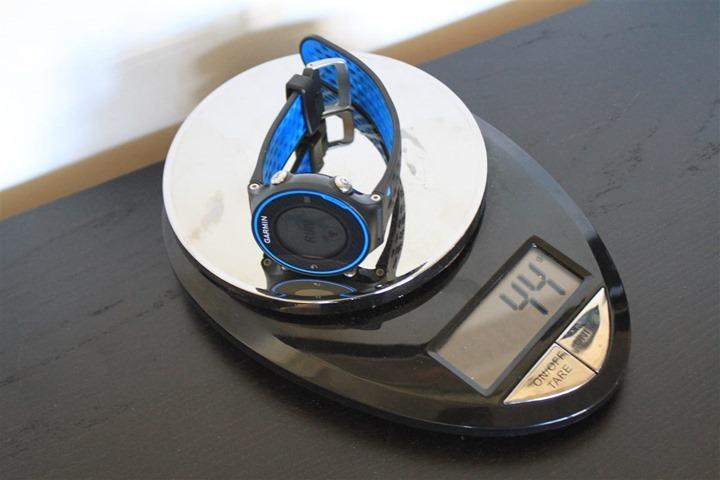 Garmin FR620 Weight