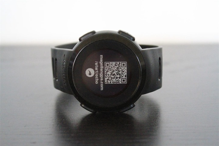 Once you get that all installed you ll need to tell your watch to wake up  and start looking for its app buddy. To do that you ll just hold the  upper-left ... e9c986ae16b