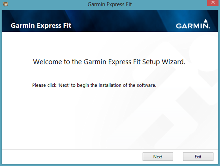 Garmin FIT Express