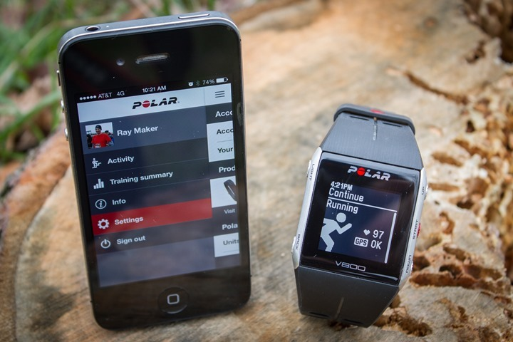918391ba97f140 First look at Polar s new V800 GPS triathlon watch