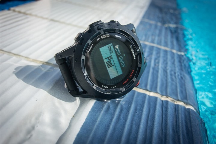 Garmin Fenix2 Pool Swimming Mode