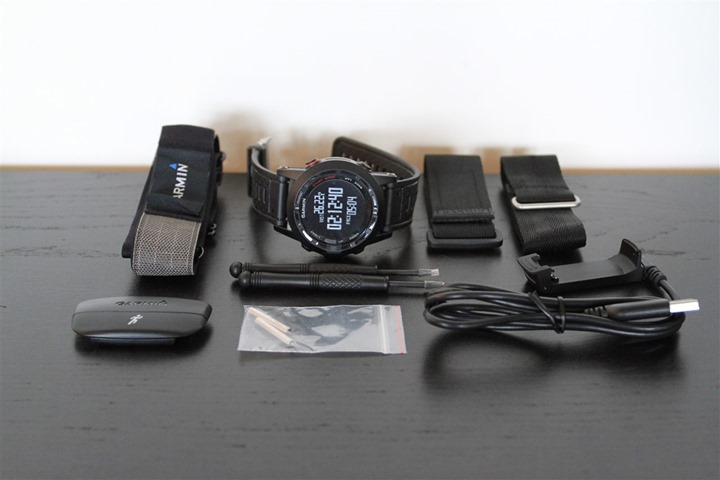 Garmin Fenix2 UnBoxed Components