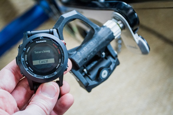 how to connect power meter to garmin