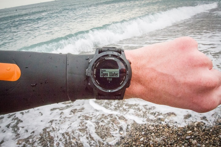Garmin Fenix2 Openwater Swim