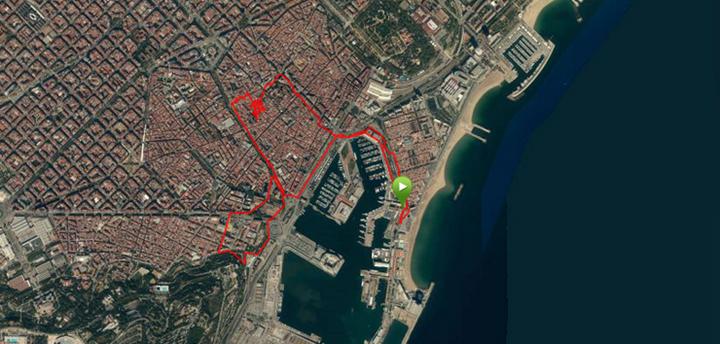 Garmin Fenix2 Cycling Map
