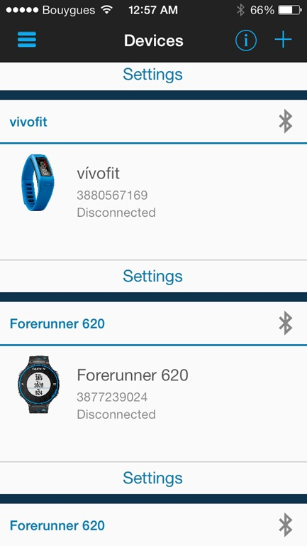 garmin connect how to find nadges
