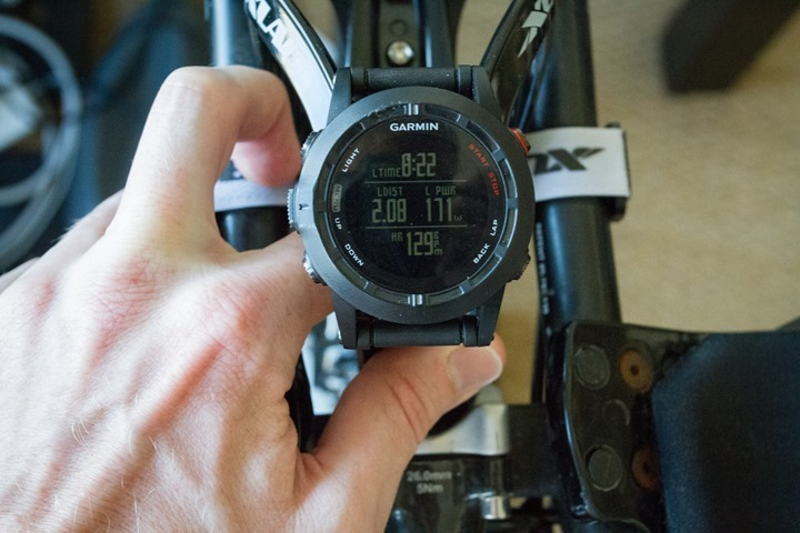 Garmin Fenix2 Power Meter Data