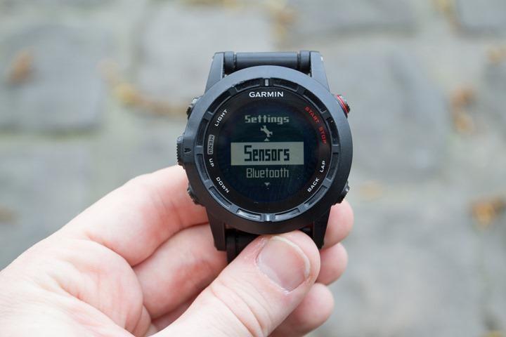 Garmin Fenix2 Sensors