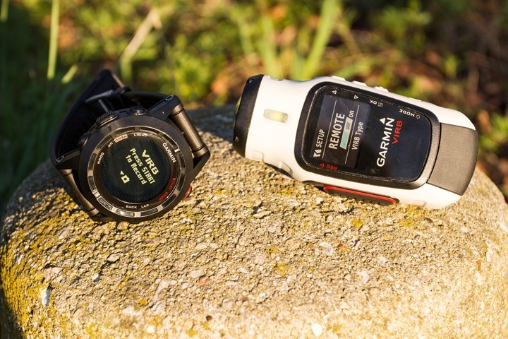 Garmin Fenix2 and VIRB Control Photo