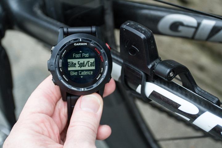 Garmin Fenix2 Speed/Cadence Sensors