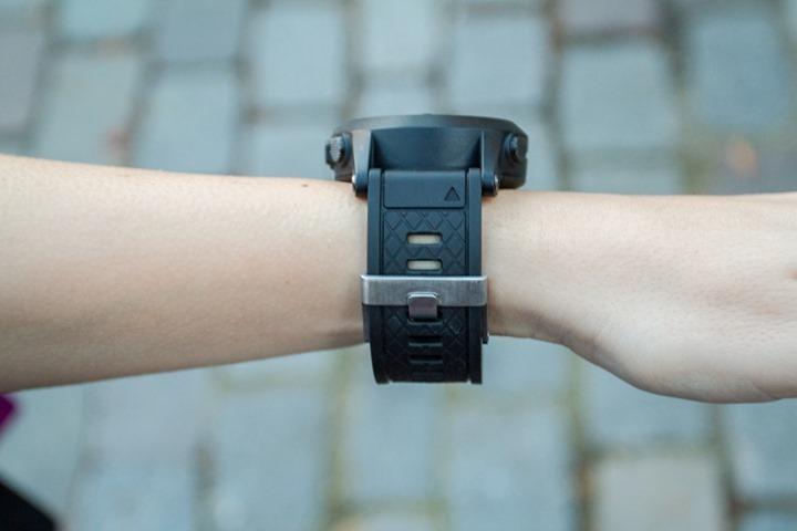 Garmin Fenix2 on small women's wrist