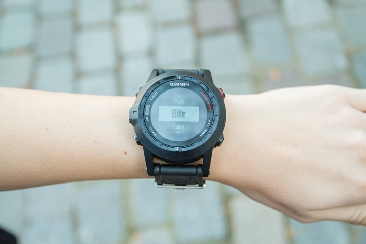 Garmin Fenix2 on small women's wrist