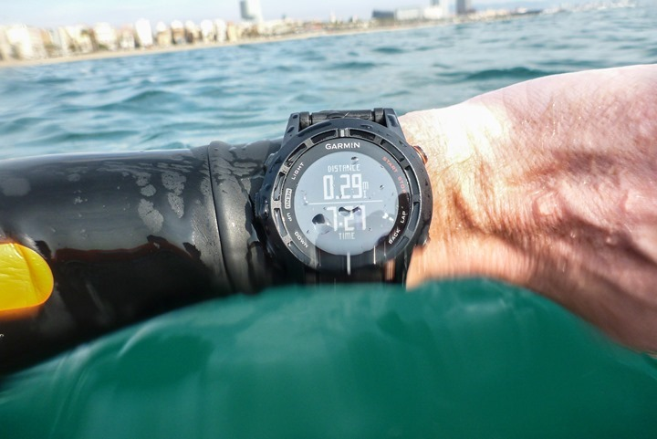 Garmin Fenix2 Openwater Swimming