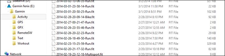 Garmin Fenix2 Fit Files