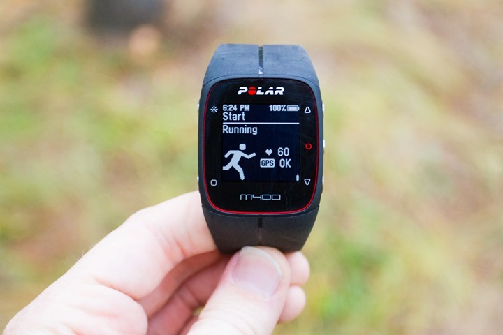 21fc07bf34 Polar M400 GPS   Activity Tracker Watch In-Depth Review