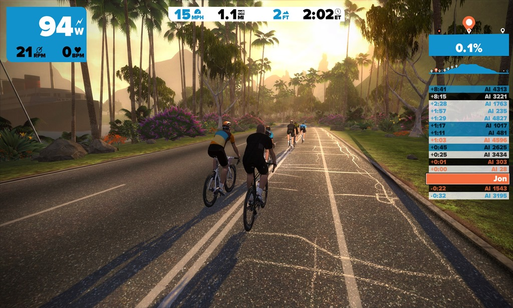 First Look At Zwift An Ultra Real Graphics Trainer App