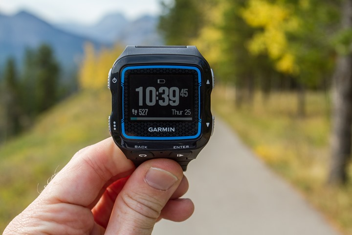 Garmin FR920XT - Watch Mode