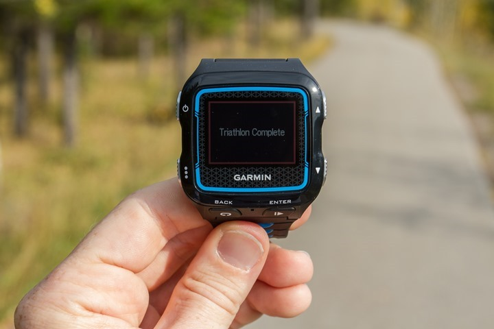 Garmin FR920XT - Finally the end of this post