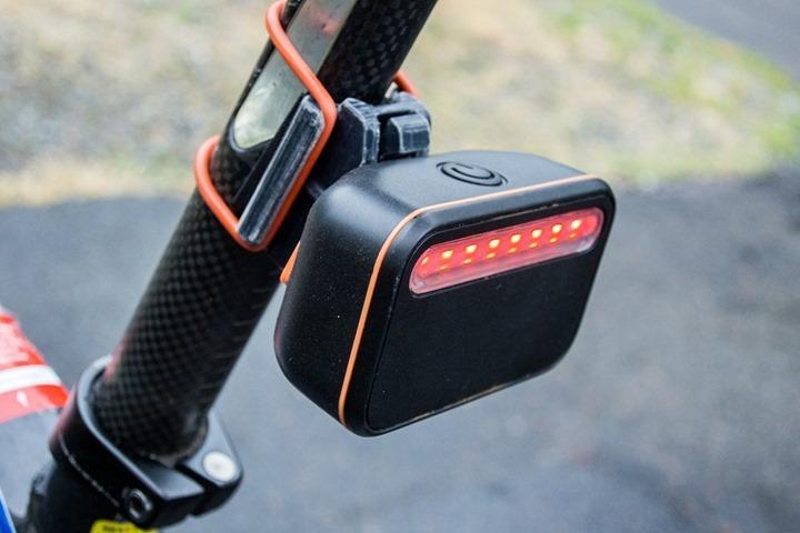 Garmin with Backtracker Rear Light Pod