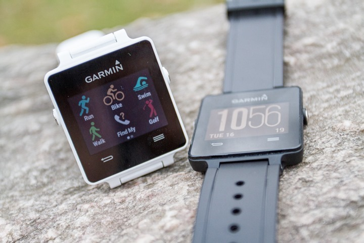 hands on with the new garmin vivoactive gps smartwatch and the rh dcrainmaker com