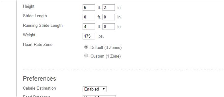 Fitbit-Surge-Configure-Stride-Length