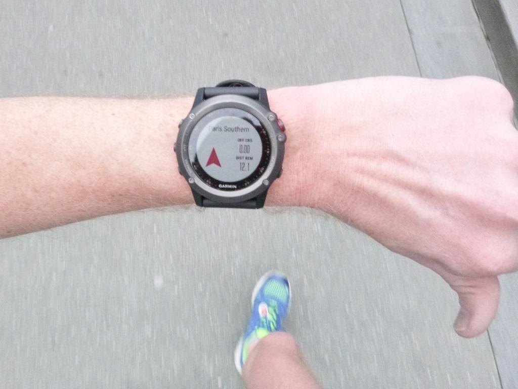 how to start navigation on run with garmin fenix 5s